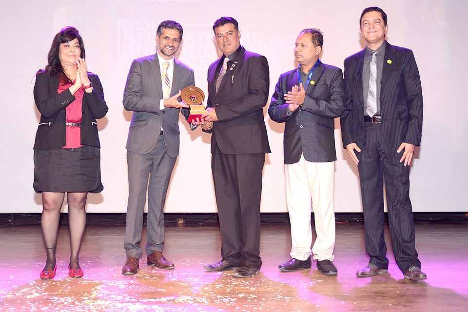 "Recently Pune's prestigious institute Indira Group of Institutes organised its ""9th Indira International Innovation Summit"" and ""HR Excellence Awards"" . The Theme of the 9th Indira International Innovation Summit ""INNOVATING IN DIGITAL INDIA…challenges and opportunities."" During this occasion they choose Suryatech Solar Systems as Awardee for its ""Engineering Excellence "" Award was given by Mr. Firodiya ( MD of Firodiya group ) with the presence of Dr Tarita Shankar ( Chairperson of Indira Group ) , Prof. Sunil Ingole (Principal of Indira College of Engineering) & Prof. Chetan Wakalkar ( Group Director of Indira Institutes )"