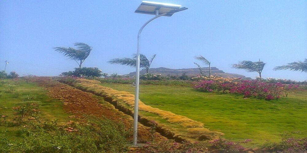 Electricity bill reducer Solar Street Lights Installed By Suryatech Solar Systems, Pune.
