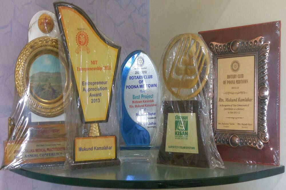 Suryatech Solar Systems has been awarded for its best services and solar products
